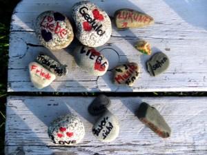 gr steingruppe auf bank opti