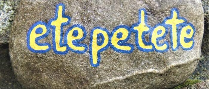 etepetet - Das Wörtchen der Woche | No 9